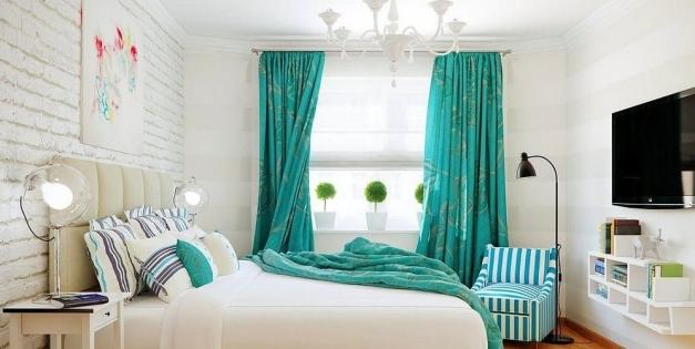 Как подобрать шторы в комнату по цвету