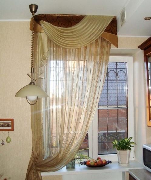 Кухонные шторы за пол часа