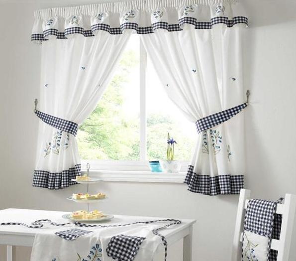 Красивые шторы для вашей кухни