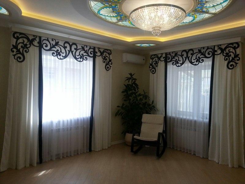 Таким видом декора можно украсить практически любое помещение