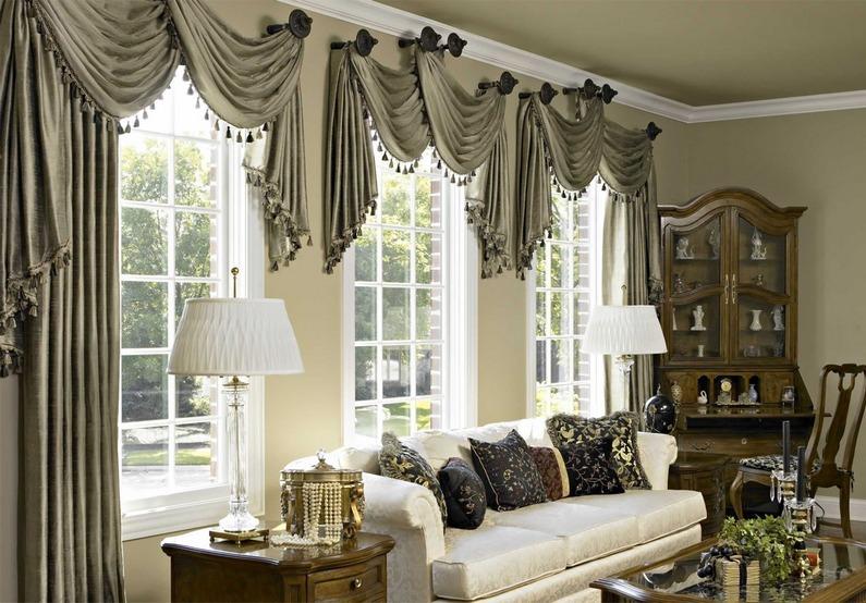 Украшать шторы можно чем угодно, главное иметь хорошую фантазию и не переборщить